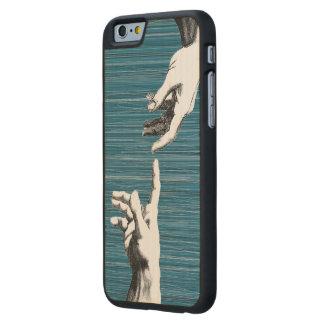 renaissance carved lönn iPhone 6 slim skal