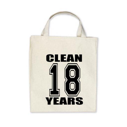 rengöringen eightteen år hänger lös tote bags
