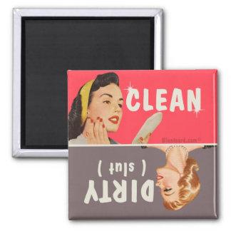 rengöringen smutsar ner diskaremagnetbluntcard