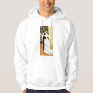 Renoir dans i stadshoodien sweatshirt med luva