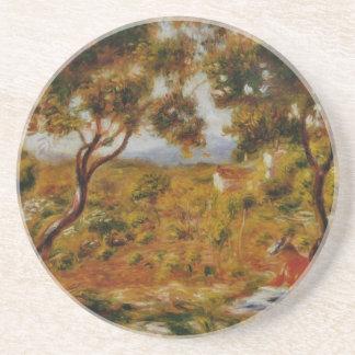 Renoir målning underlägg sandsten