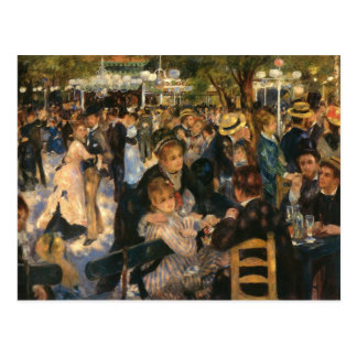 Renoirs la Galette   (1876) för Bal du de Vykort