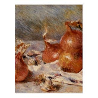 Renoirs stilleben med lökar (1881) vykort