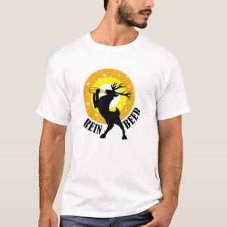 Renöl som dricker fullvuxen hankronhjort tee shirt