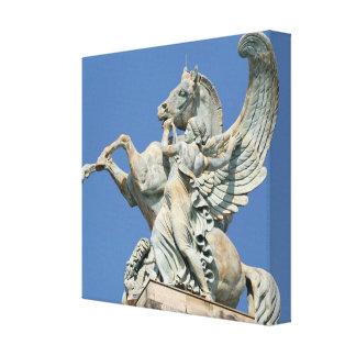 Renown innehav tillbaka Pegasus Canvastryck