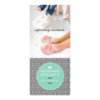 Rent designkuggekort - fotografimarknadsföring reklamkort