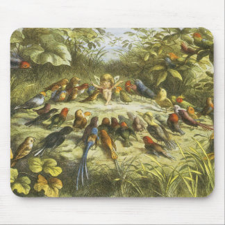 Repetition i Fairyland Mousepad av Richard Doyle Musmatta