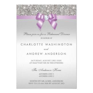 Repetition middag för bröllop för pilbåge för 12,7 x 17,8 cm inbjudningskort