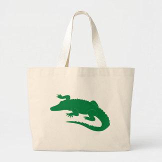 Reptil för krokodilalligatoralligator jumbo tygkasse