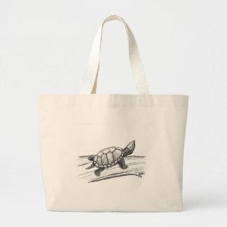 Reptil-/sköldpadda/Stinkpot sköldpadda Jumbo Tygkasse