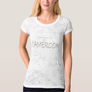 Republic of Cameroon T Shirts