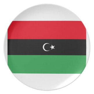 republik av libya vectorShow din republik av Liby Tallrik