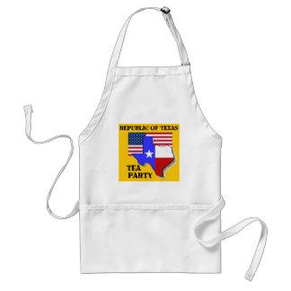 Republik av Texas TeaParty-gult Förkläde