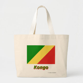 Republik KongoFlagge mit Namen Kassar