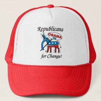 Republikaner för ändringshatt truckerkeps