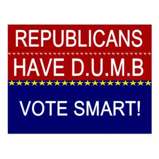 Republikaner har D.U.M.B. Vykort