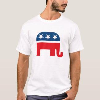 Republikansk elefantT-tröja T-shirt