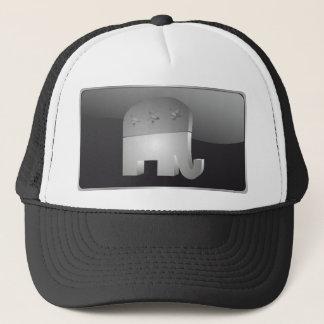 Republikansk hatt för elefant (GOP) Truckerkeps