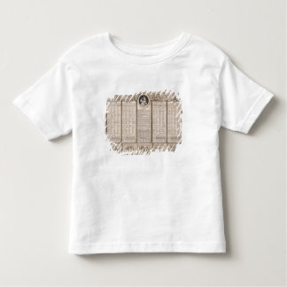 Republikansk kalender, 1794 t shirts