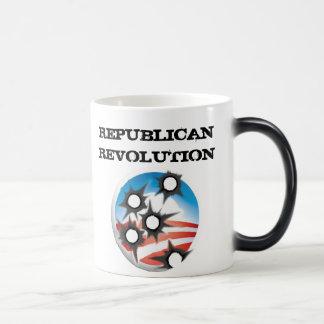 Republikansk revolution magisk mugg