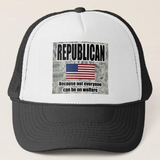 Republikansk välfärdshatt truckerkeps