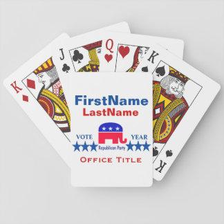 Republikanska mallar casinokort