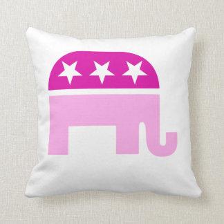 Republikanska original- elefantrosor kudde