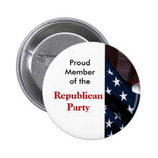 Republikanskaa partit knäppas standard knapp rund 5.7 cm
