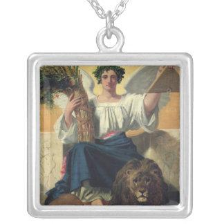 Republiken, 1848 silverpläterat halsband