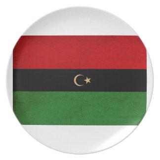 republiken av libya tex3Republic av Libyen sjunker Tallrik