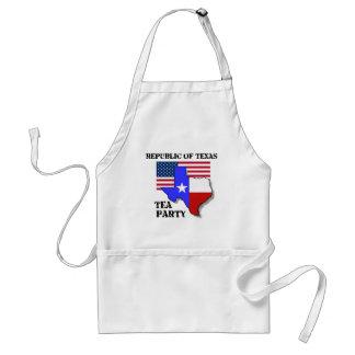 Republiken av Texas Tea festar Förkläde
