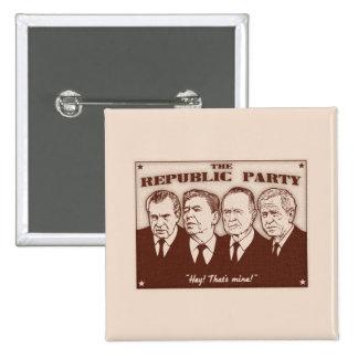 Republiken festar knapp med nål