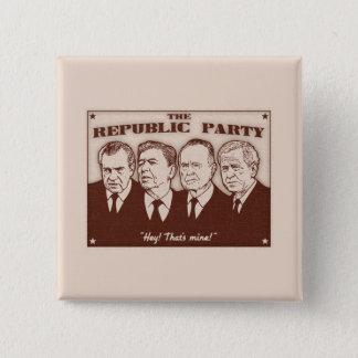 Republiken festar standard kanpp fyrkantig 5.1 cm