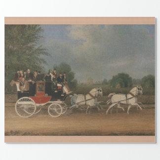 Resa i England, 1835. Presentpapper