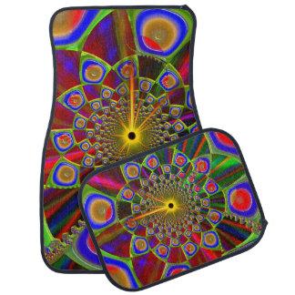 Resa i Psychedelic optik 3d Bilmatta