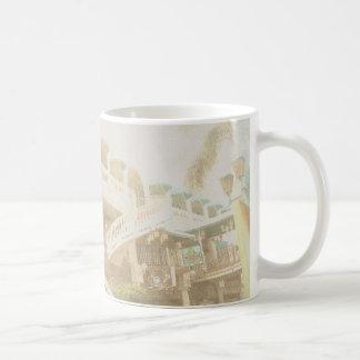 Resa karibiskt kaffe för koppen för den Aruba Vit Mugg