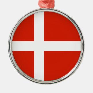 Resa prydnaden - Danmark Julgransprydnad Metall
