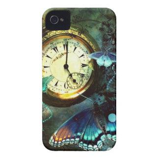 Resa till och med Time iPhone 4 Cases