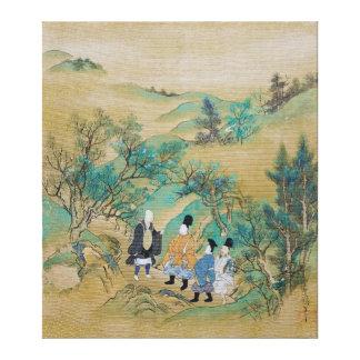 Resa till öster av Sumiyoshi Jokei Canvastryck