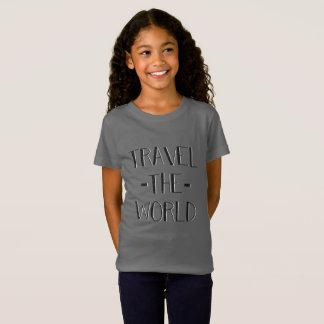 Resa världsflickorna T Tee Shirts