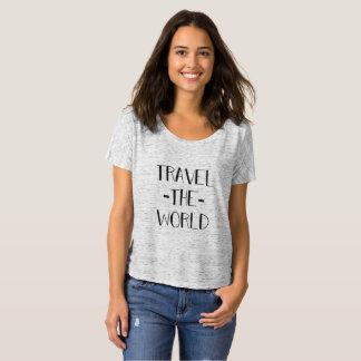 Resa världskvinna Slouchy T T Shirts