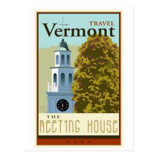 Resa Vermont Vykort