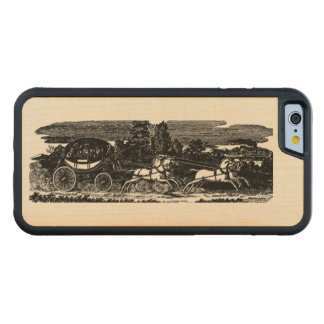 Resa vid enDragen lagledare i Victorianeraen iPhone 6 Bumper Fodral I Lönn