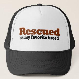 Rescued är min favorit- avel truckerkeps