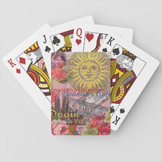 Reser den moderiktiga spanjoren för Spanien Spel Kort