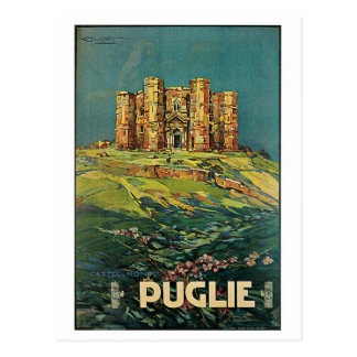 """Reser den Puglie (Puglia) vintageitalienare Vykort"