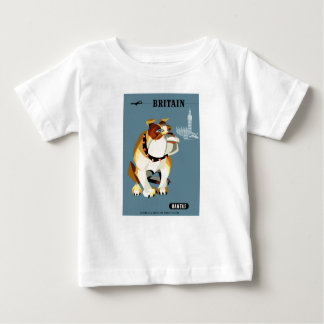Reser den Qantas Britannien bulldoggen 1960 T-shirts