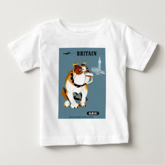 Reser den Qantas Britannien bulldoggen 1960 Tee Shirt