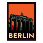 reser den retro berlin tysklanda oktoberfestart dé vykort