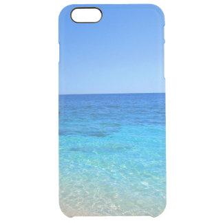 Reser den tropiska wanderlusten för hav och för clear iPhone 6 plus skal